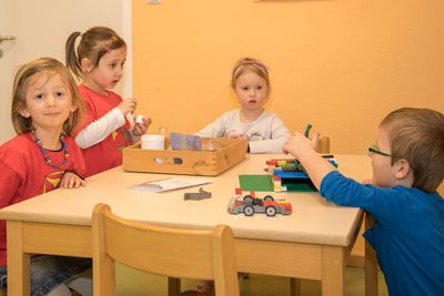 Kindergarten kindergarten krippe froschgr n in naila for Konzept kindergarten